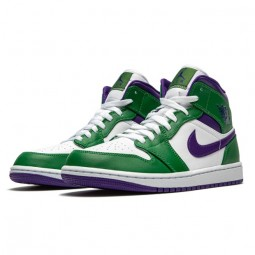 Air Jordan 1 Mid Incredible Hulk-554724-300-Limited Resell