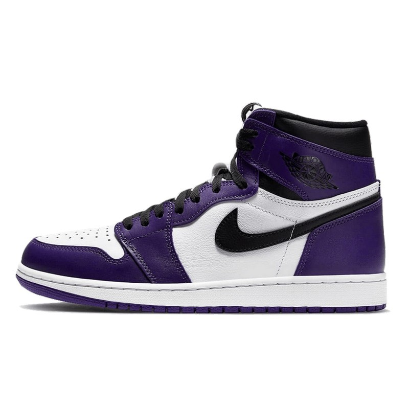 Air Jordan 1 Retro High OG Court Purple White-555088-500-Limited Resell