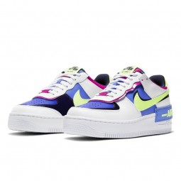 Air Force 1 Shadow Sapphire White--CJ1641-100-Limited Resell