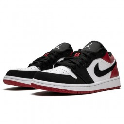 Air Jordan 1 Low Black Toe--553558-116-Limited Resell