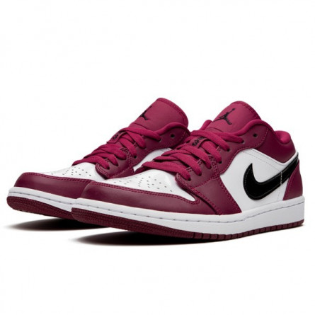 Air Jordan 1 Low Noble Red--553560-604-Limited Resell
