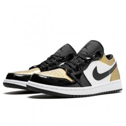 Air Jordan 1 Low Gold Toe--CQ9487-700-Limited Resell