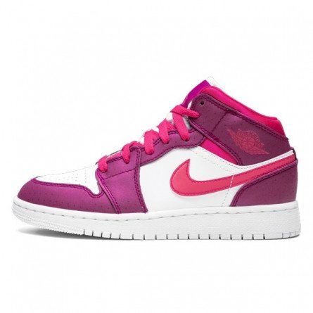 Air Jordan 1 Mid True Berry Rush Pink