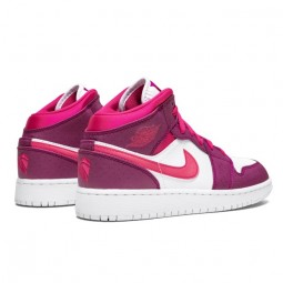 Air Jordan 1 Mid True Berry Rush Pink-555112-661-Limited Resell