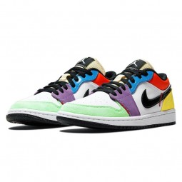 Air Jordan 1 Low SE Multi Color--CZ3572-104-Limited Resell