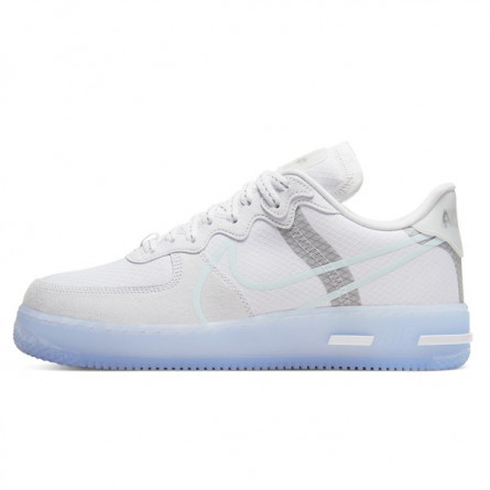 Air Force 1 React White Ice Light Bone