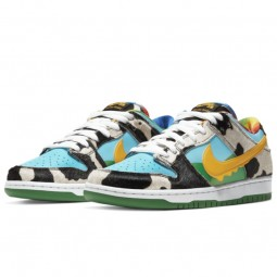 Nike SB Dunk Low Ben & Jerry's Chunky Dunky--CU3244-100-Limited Resell