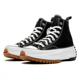 Converse Run Star Hike Hi Black White Gum--166800C-Limited Resell