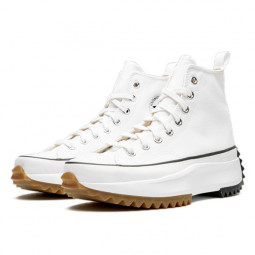 Converse Run Star Hike Hi White Gum--166799C-Limited Resell