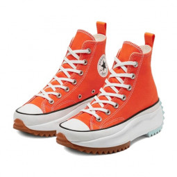 Converse Run Star Hike Hi Sunblocked Total Orange--168287C-Limited Resell