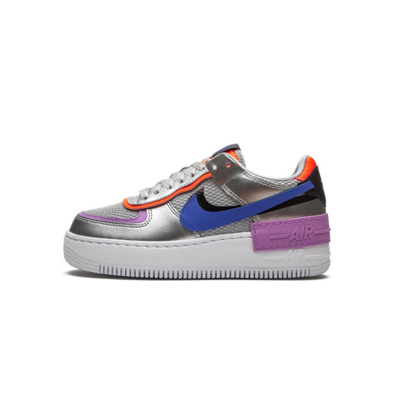 Air Force 1 Shadow Metallic Silver--CW6030-001-Limited Resell