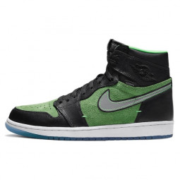 Air Jordan 1 Retro High Zoom Black Green--CK6637-002-Limited Resell