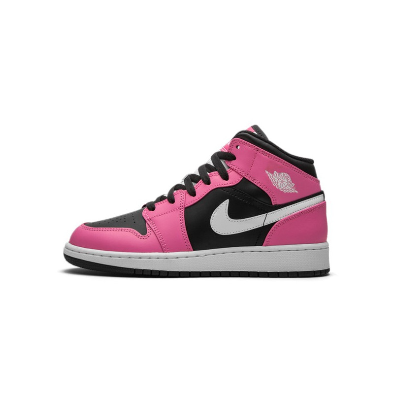 Air Jordan 1 Mid Pinksicle--555112-002-Limited Resell