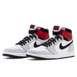 Air Jordan 1 Retro High Light Smoke Grey--555088-126-Limited Resell