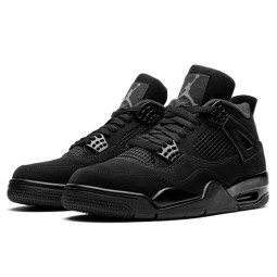 Air Jordan 4 Retro Black Cat--CU1110-010-Limited Resell