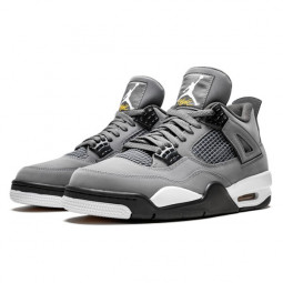 Air Jordan 4 Retro Cool Grey--308497-007-Limited Resell