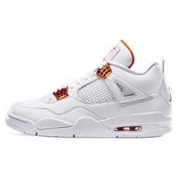 Air Jordan 4 Retro Metallic Orange--CT8527-118-Limited Resell