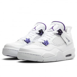 Air Jordan 4 Retro Metallic Purple--CT8527-115-Limited Resell