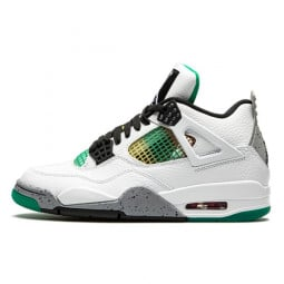 Air Jordan 4 Retro Rasta Green--AQ9129-100-Limited Resell