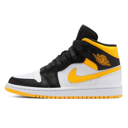 Air Jordan 1 Mid Laser Orange Black--CV5276-107-Limited Resell