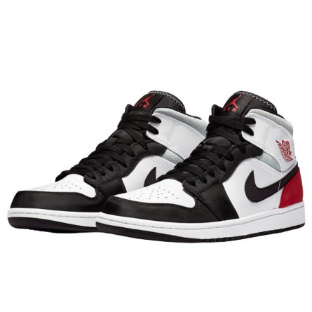 Air Jordan 1 Mid SE Union Black Toe--852542-100-Limited Resell