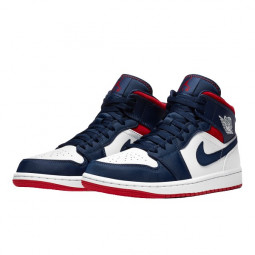 Air Jordan 1 Mid SE USA--BQ6931-104-Limited Resell