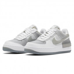 Air Force 1 Shadow SE White Particle Grey--CK6561-100-Limited Resell