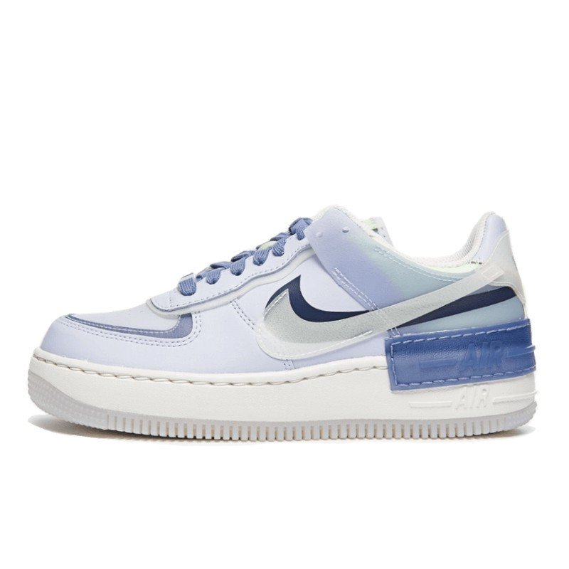 air force 1 shadow blanc bleu