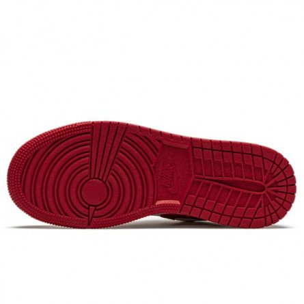 Air Jordan 1 Low Gym Red White--553558-611-Limited Resell