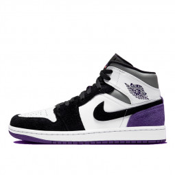 Air Jordan 1 Mid SE Purple--852542-105-Limited Resell