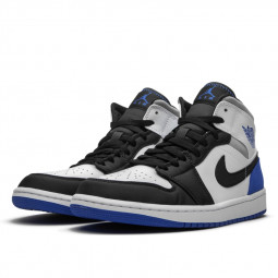 Air Jordan 1 Mid SE Union White Black Royal--BQ6931-102-Limited Resell