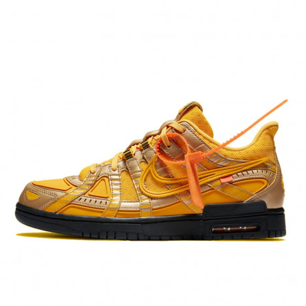 Nike Dunk Off-White Air Rubber University Gold