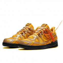 Nike Dunk Off-White Air Rubber University Gold--CU6015-700-Limited Resell