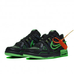 Nike Dunk Off-White Air Rubber Green Strike--0000000675-Limited Resell