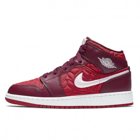 Air Jordan 1 Mid SE Red Quilt