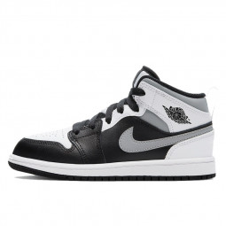 Air Jordan 1 Mid White Shadow--554725-073-Limited Resell