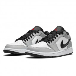 Air Jordan 1 Low Light Smoke Grey--553560-030-Limited Resell