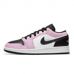 Air Jordan 1 Low White Light Arctic Pink--554723-601-Limited Resell