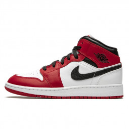 Air Jordan 1 Mid Chicago White--554724-173-Limited Resell