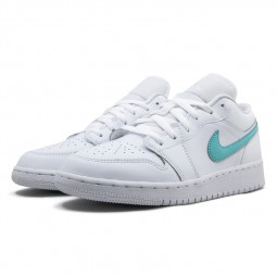 Air Jordan 1 Low White Neon--CW7035-100-Limited Resell
