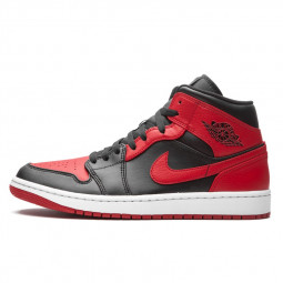 Air Jordan 1 Mid Banned 2020--554725-074-Limited Resell