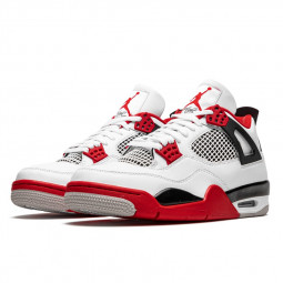 Air Jordan 4 Retro Fire Red--408452-160-Limited Resell