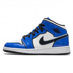 Air Jordan 1 Mid Signal Blue--BQ6931-402-Limited Resell