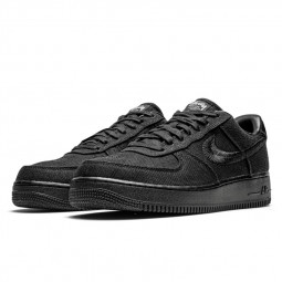 Air Force 1 Low Stussy Black--CZ9084-001-Limited Resell