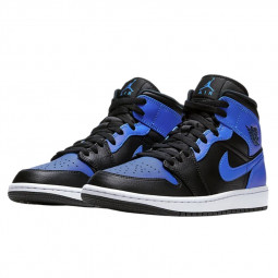 Air Jordan 1 Mid Hyper Royal--554725-077-Limited Resell