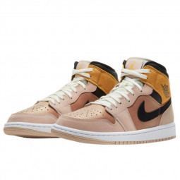 Air Jordan 1 Mid SE Particle Beige--DD2224-200-Limited Resell