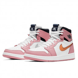 Air Jordan 1 High Zoom Air CMFT Pink Glaze--CT0979-601-Limited Resell