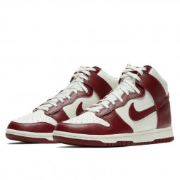 Nike Dunk High Sail Team Red--0000000816-Limited Resell
