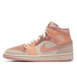 Air Jordan 1 Mid Apricot Orange--0000000818-Limited Resell