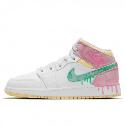 Air Jordan 1 Mid Paint Drip--0000000825-Limited Resell
